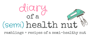 diary of a semi health nut by amanda r dewitt