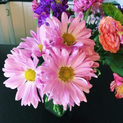pretty flowers from dave via amandardewitt.com