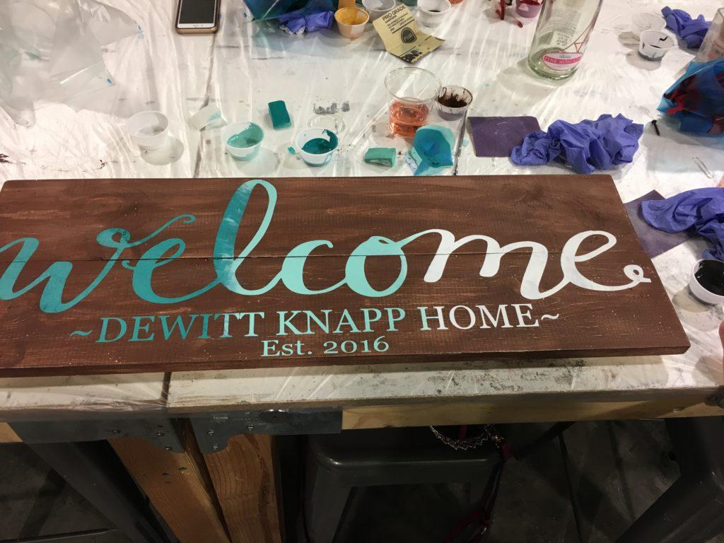 dewitt knapp home corky board