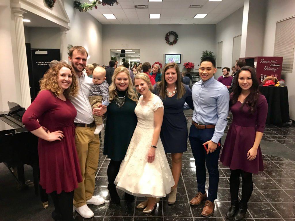 dewitt knapp wedding with my education people